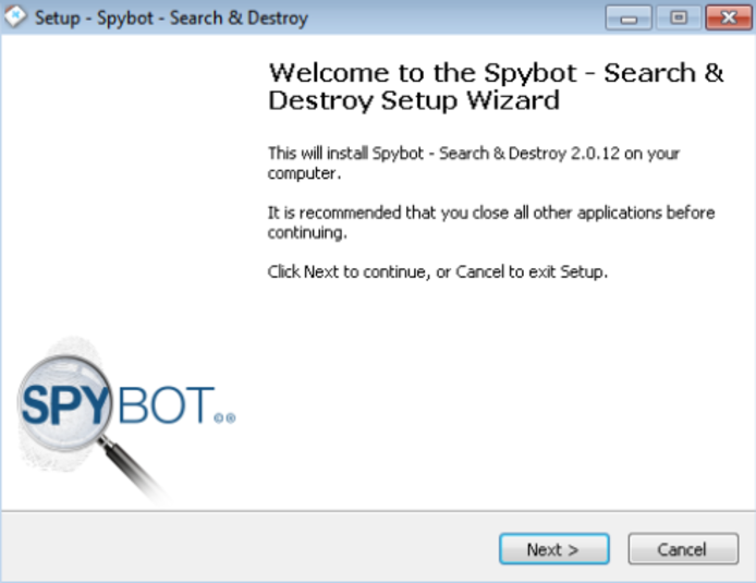 Screenshot 9 of SpyBot Search & Destroy