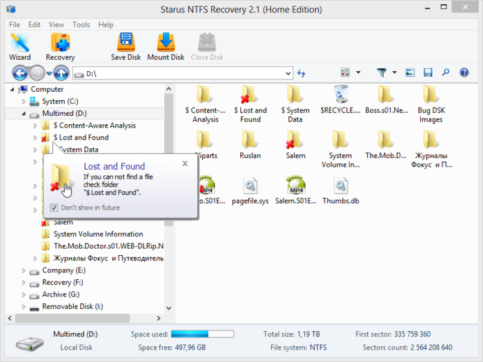 Download Starus NTFS Recovery free — NetworkIce com
