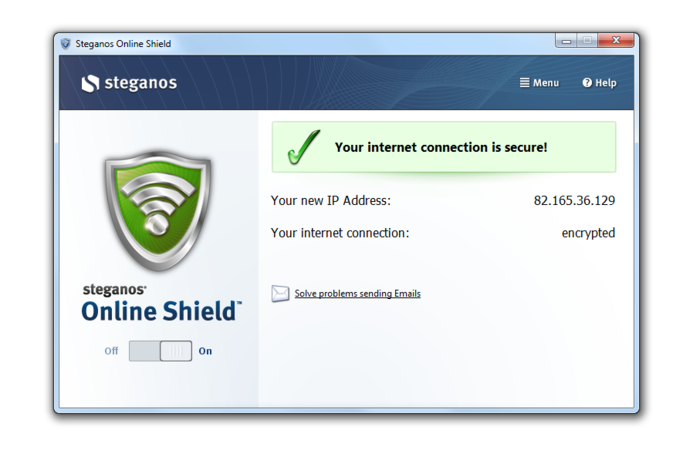 Screenshot 3 of Steganos Online Shield 365