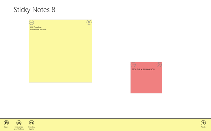 Screenshot 1 of Sticky Notes 8 for Windows 10