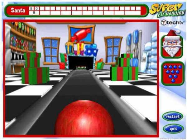 Ninepin bowling simulator game free download.