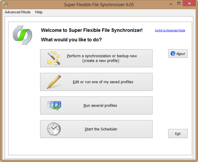 Screenshot 5 of Super Flexible File Synchronizer