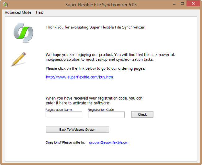 Screenshot 2 of Super Flexible File Synchronizer