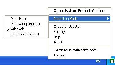 Screenshot 2 of System Protect