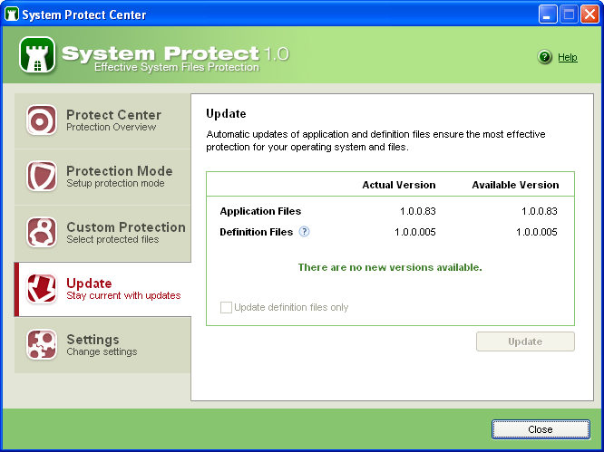 Screenshot 3 of System Protect
