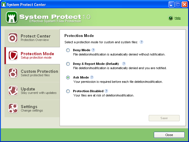 Screenshot 8 of System Protect