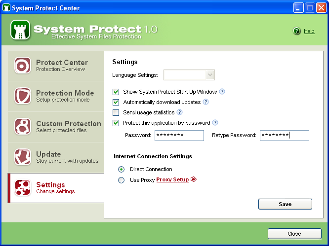 Screenshot 6 of System Protect