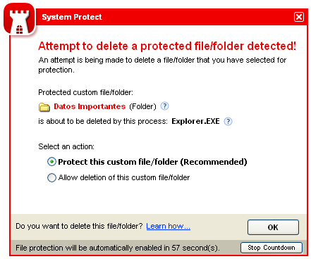 Screenshot 4 of System Protect