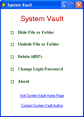 Screenshot 3 of System Vault