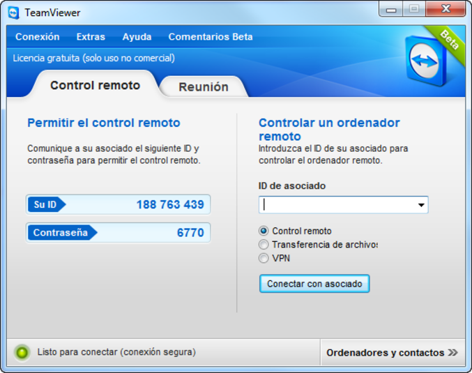 Screenshot 12 of TeamViewer 8