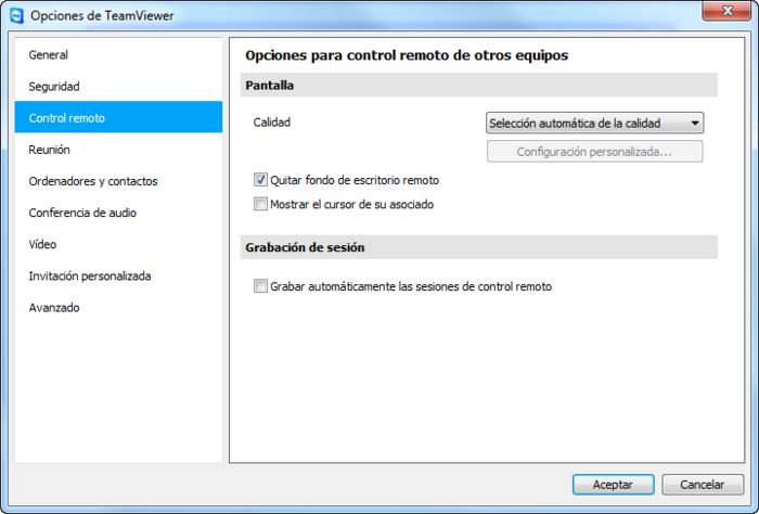 Screenshot 2 of TeamViewer 8