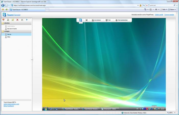 Screenshot 16 of TeamViewer 8