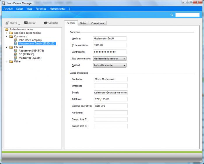 Screenshot 3 of TeamViewer 8
