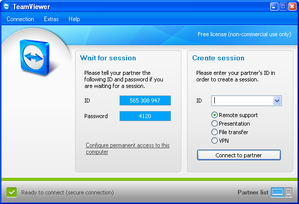 Screenshot 5 of TeamViewer Portable