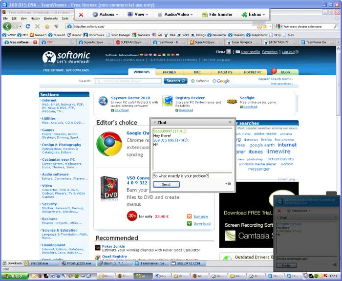 Screenshot 6 of TeamViewer Portable