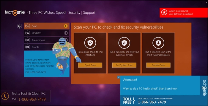Screenshot 3 of TechGenie Free Antivirus