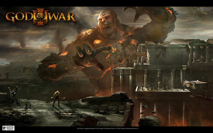 Screenshot 6 of Tema de God of War III