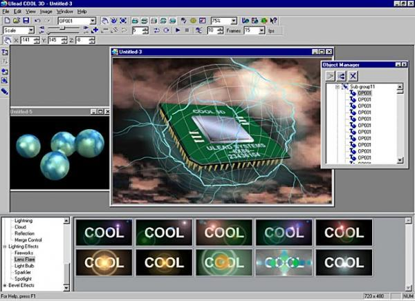 Free download ulead cool 3d 3. 5.