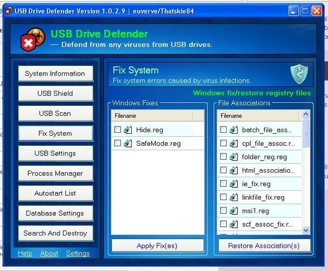 Screenshot 8 of USB Drive Defender