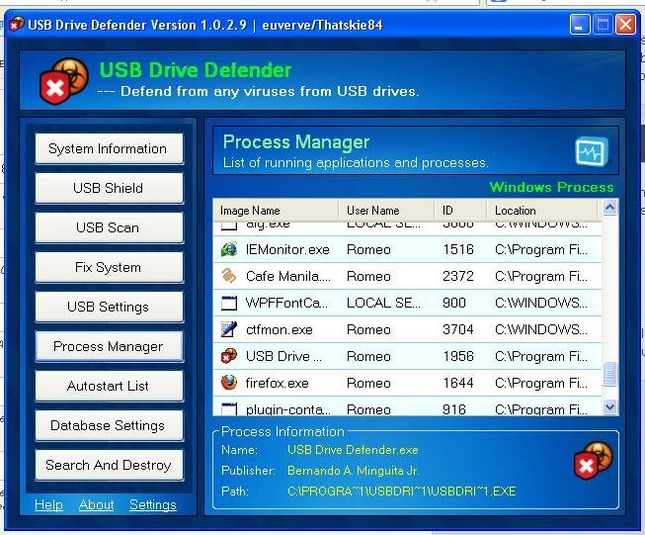 Screenshot 5 of USB Drive Defender