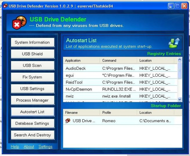 Screenshot 4 of USB Drive Defender