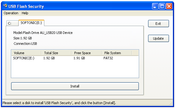 Screenshot 4 of USB Flash Security