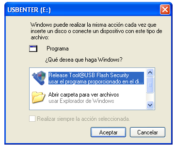 Screenshot 3 of USB Flash Security