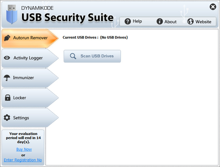 Screenshot 3 of USB Security Suite