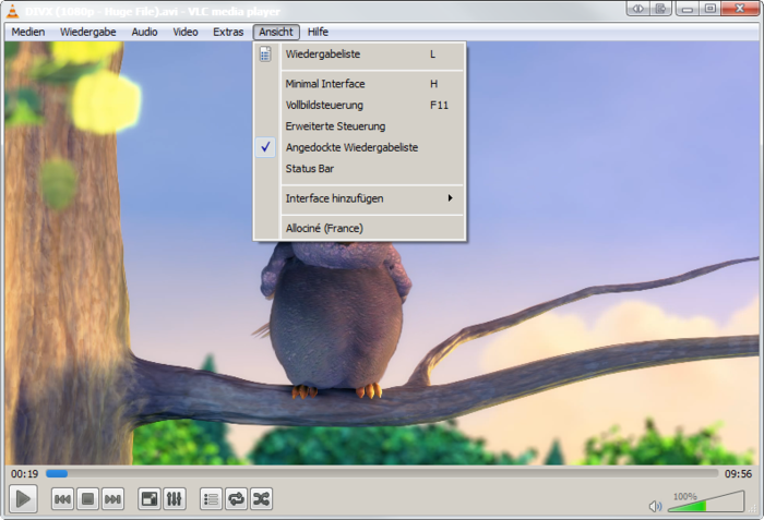 Screenshot 6 of VLC media player nightly