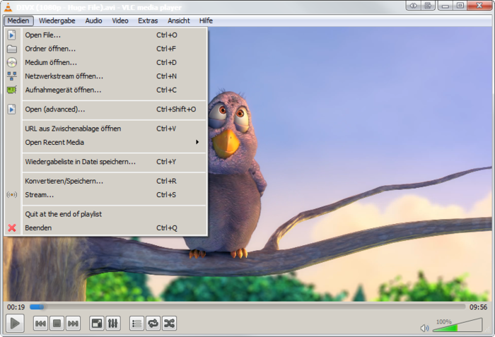 Screenshot 5 of VLC media player nightly