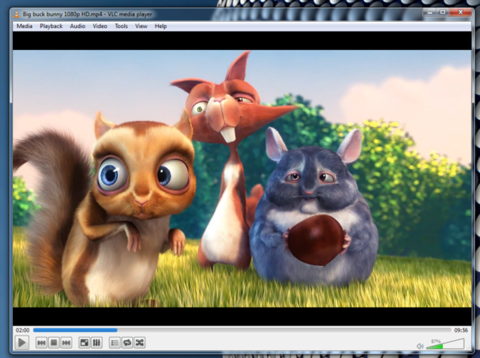 Screenshot 3 of VLC media player