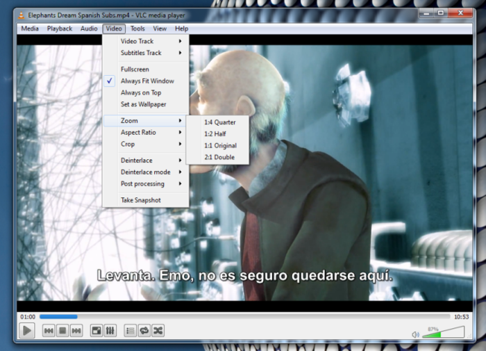 Screenshot 10 of VLC media player