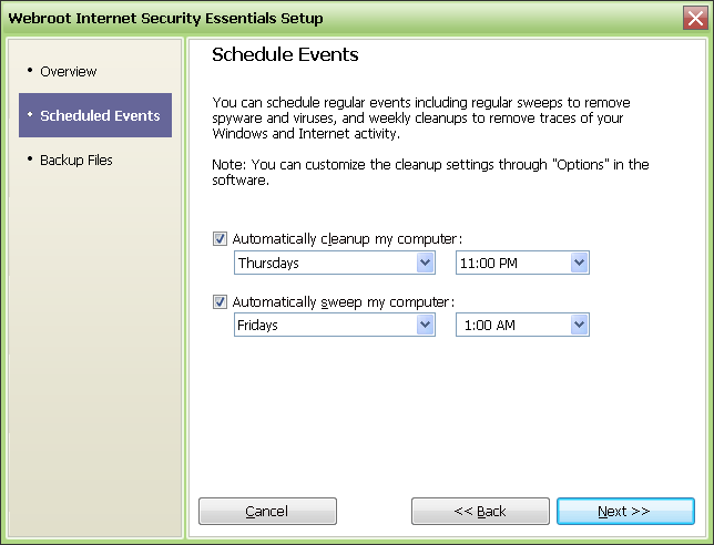 Screenshot 7 of Webroot Internet Security Essentials