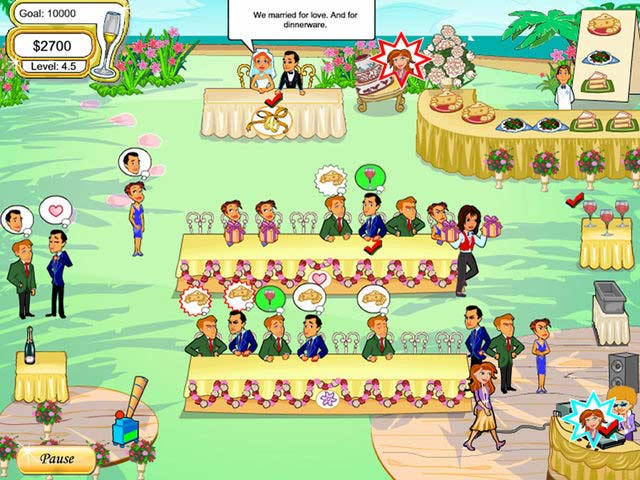 Download wedding dash 4 ever free online games with qgames. Org.