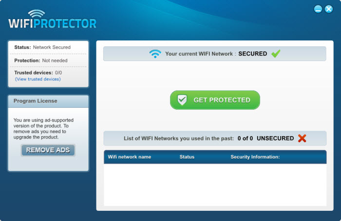 Screenshot 2 of WiFi Protector