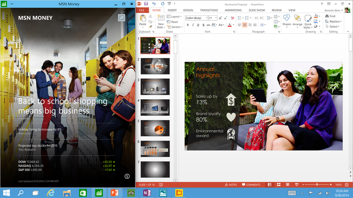 Screenshot 3 of Windows 10