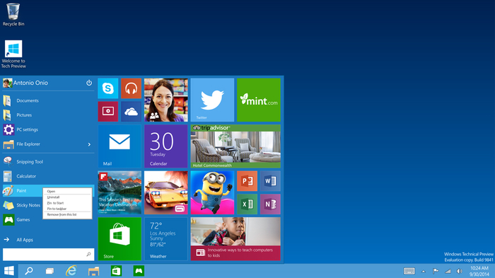 Screenshot 24 of Windows 10