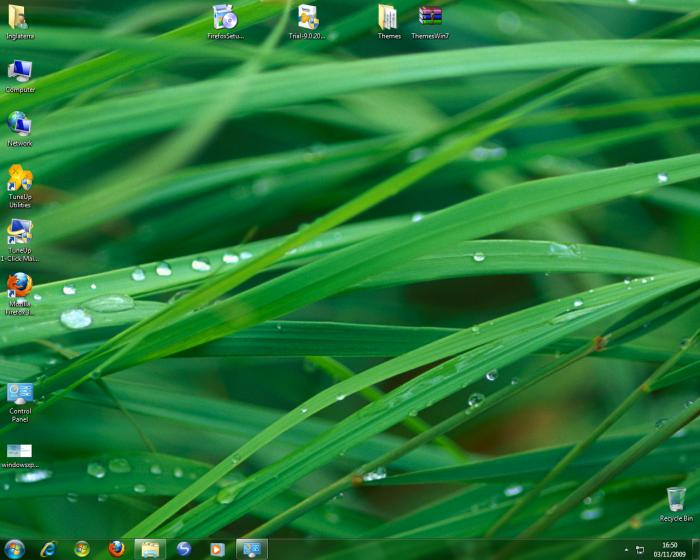 Screenshot 2 of Windows 7 Visual Themes Pack