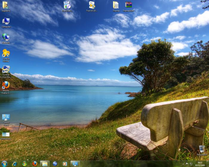Screenshot 1 of Windows 7 Visual Themes Pack