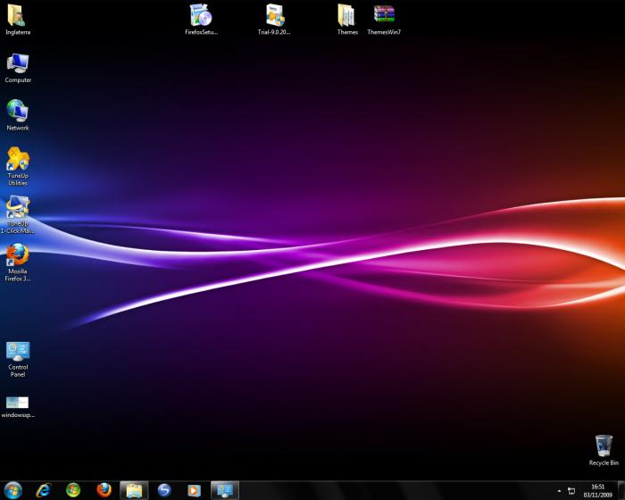 Screenshot 8 of Windows 7 Visual Themes Pack