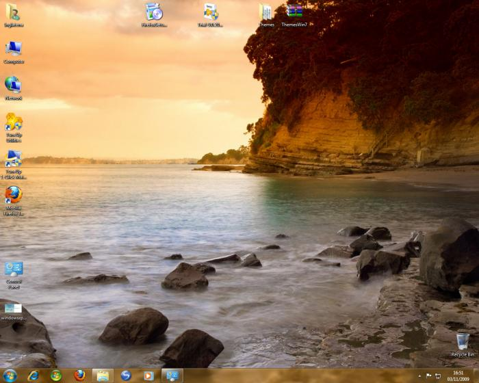 Screenshot 5 of Windows 7 Visual Themes Pack