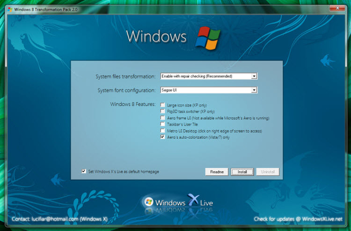 Screenshot 4 of Windows 8 Transformation Pack