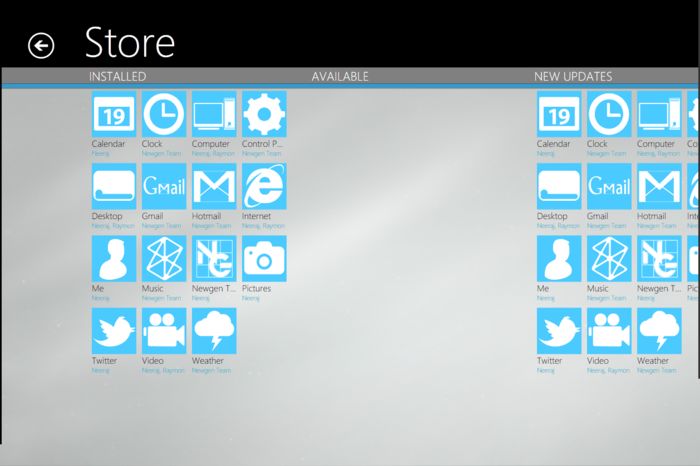 Screenshot 5 of Windows 8 Transformation Pack
