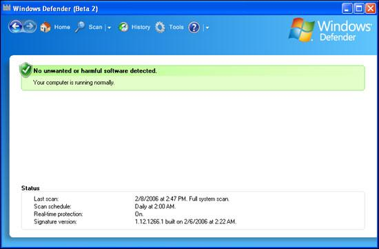 Screenshot 3 of Windows Defender