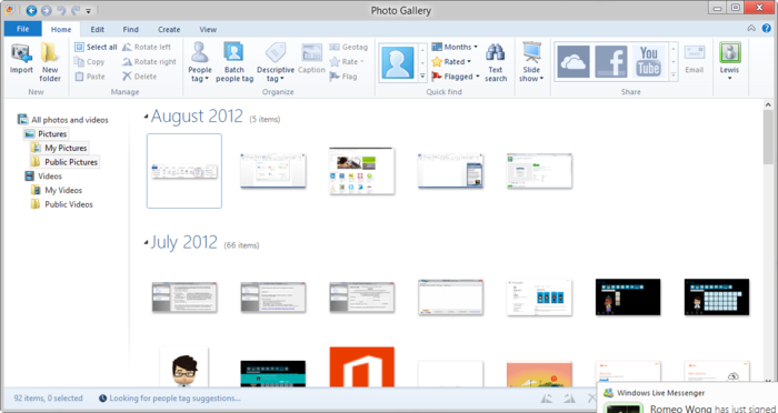Screenshot 11 of Windows Essentials