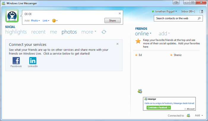 live messenger hotmail