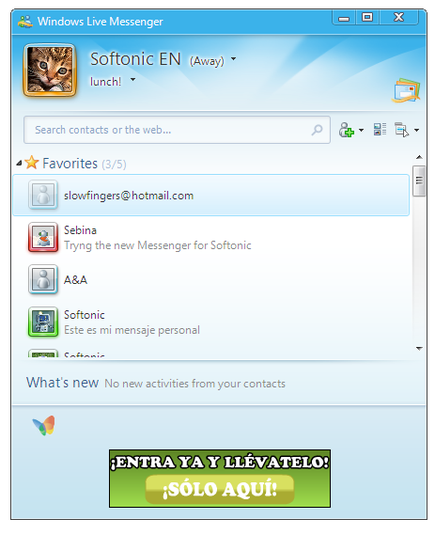 Download Windows Live Messenger Free