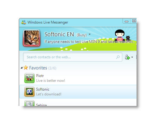 Download free windows live messenger new version.