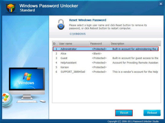 Descargar windows password recovery tool ultimate 6. 2. 0. 2.