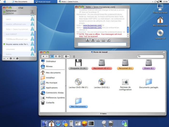 Screenshot 2 of WinOSX